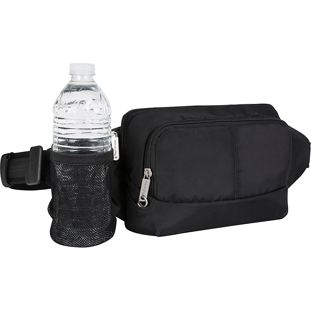 Travelon Anti-Theft Classic Waist Pack Black - Travelon Waist Packs - Backpacks, Waist Packs