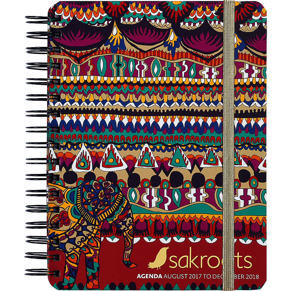 Sakroots Artist Circle Daily Agenda Planner Camel One World - Sakroots Business Accessories - Work Bags & Briefcases, Business Accessories
