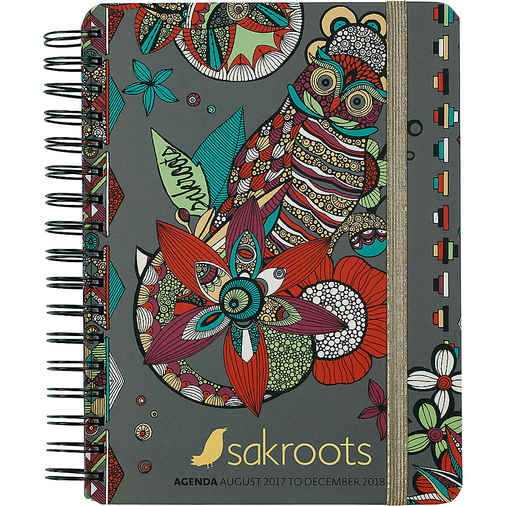 Sakroots Artist Circle Daily Agenda Planner Charcoal Spirit Desert - Sakroots Business Accessories - Work Bags & Briefcases, Business Accessories