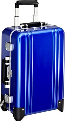 Zero Halliburton Classic Polycarbonate Carry On 2 Wheel Travel Case Blue - Zero Halliburton Hardside Carry-On
