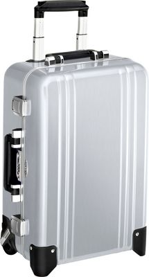 Zero Halliburton Classic Polycarbonate Carry On 2 Wheel Travel Case Silver - Zero Halliburton Hardside Carry-On