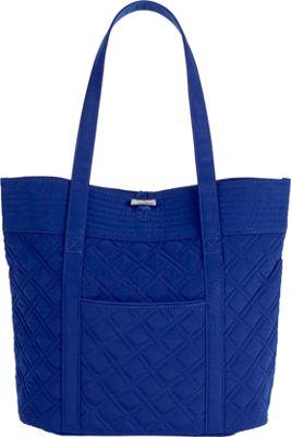 Vera Bradley Vera Tote- Solids Cobalt - Vera Bradley Fabric Handbags