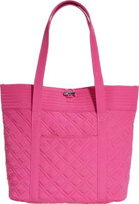 Vera Bradley Vera Tote- Solids Deep Pink - Vera Bradley Fabric Handbags