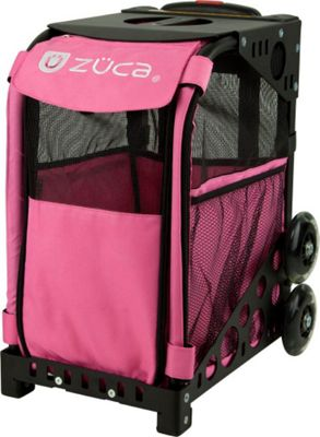 ZUCA Sport Pet Carrier Hot Pink/Black Frame Hot Pink - Black Frame - ZUCA Pet Bags