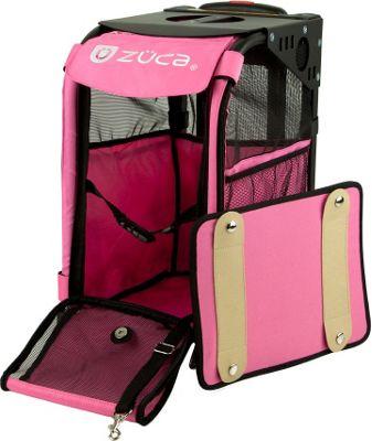 ZUCA Sport Pet Carrier Hot Pink/Black Frame Hot Pink - Black Frame - ZUCA Pet Bags