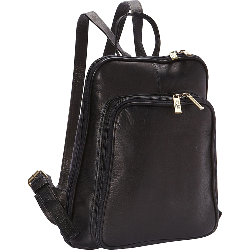ClaireChase Tablet Backpack Black - ClaireChase Leather Handbags