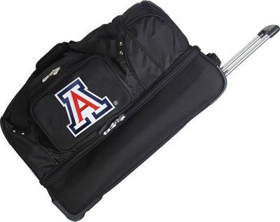 "Denco Sports Luggage NCAA 27"""" Drop Bottom Wheeled Duffel Bag University of Arizona Wildcats - Denco Sports Luggage Travel Duffels"
