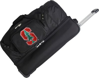 Denco Sports Luggage NCAA 27 inch Drop Bottom Wheeled Duffel Bag Stanford University Cardinal - Denco Sports Luggage Travel Duffels
