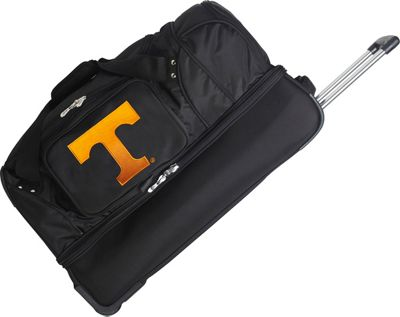 Denco Sports Luggage NCAA 27 inch Drop Bottom Wheeled Duffel Bag University of Tennessee Volunteers - Denco Sports Luggage Travel Duffels