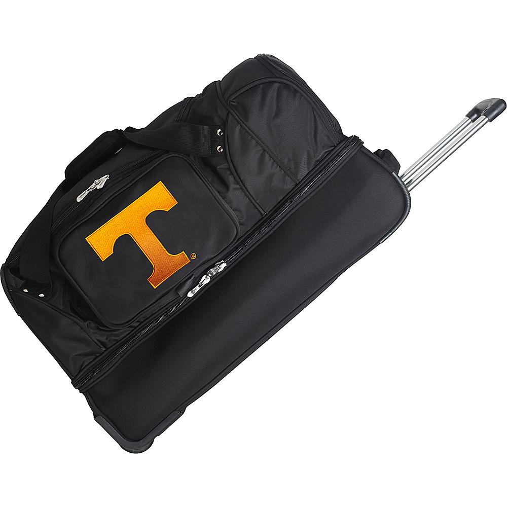 Denco Sports Luggage NCAA 27 Drop Bottom Wheeled Duffel Bag University of Tennessee Volunteers - Denco Sports Luggage Travel Duffels - Duffels, Travel Duffels