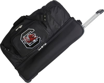 Denco Sports Luggage NCAA 27 inch Drop Bottom Wheeled Duffel Bag University of South Carolina Gamecocks - Denco Sports Luggage Travel Duffels