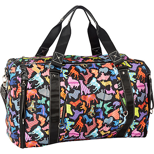 Sydney Love Best in Show Overnight Bag Multi - Sydney Love Lightweight packable expandable bags