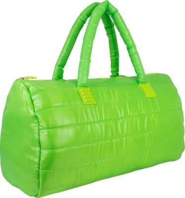Fuel Large Weekend Duffel Lime Sizzle - Fuel Travel Duffels