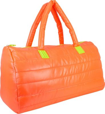 Fuel Large Weekend Duffel Tangerine - Fuel Travel Duffels