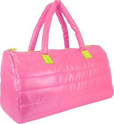 Fuel Large Weekend Duffel Pink Sizzle - Fuel Travel Duffels