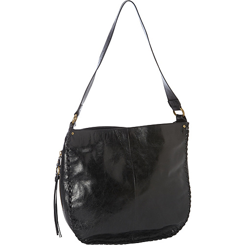 Hobo Bianka Black - Hobo Leather Handbags