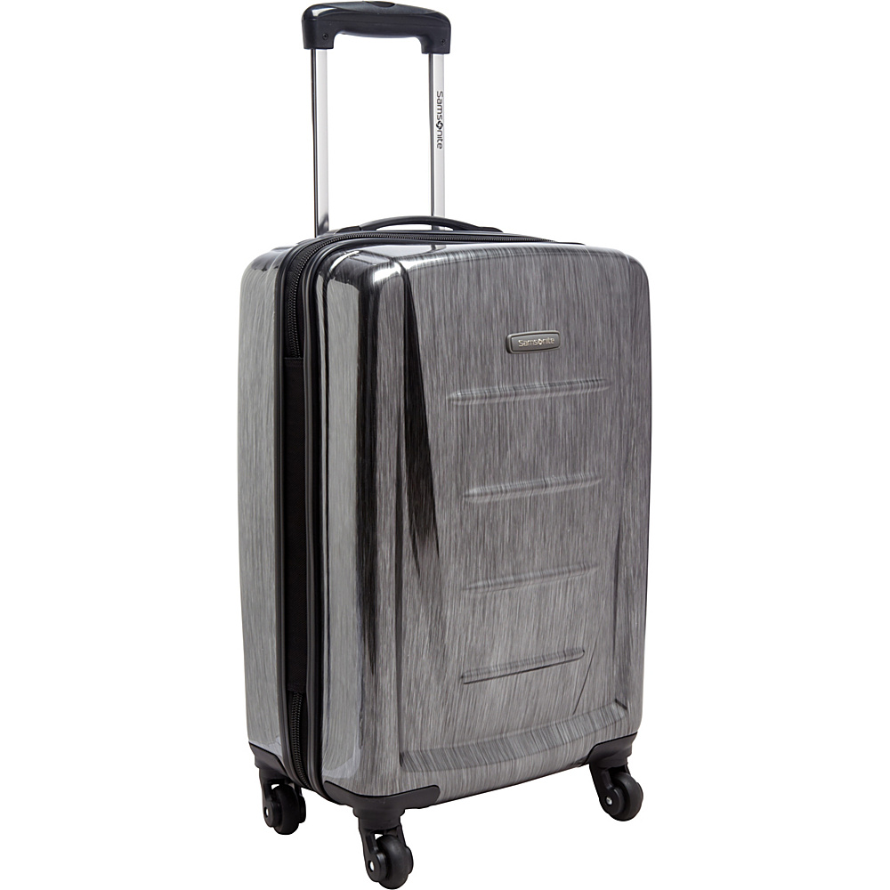 "Samsonite Winfield 2 Fashion Carry-On Hardside Spinner Luggage - 20"" Charcoal - Samsonite Hardside Carry-On"