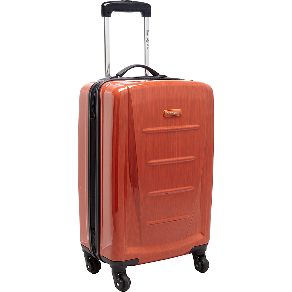 "Samsonite Winfield 2 Fashion Carry-On Hardside Spinner Luggage - 20"" Orange - Samsonite Hardside Carry-On"