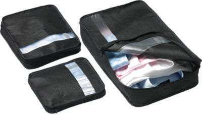 Go Travel Bag Packers Black - Go Travel Travel Organizers