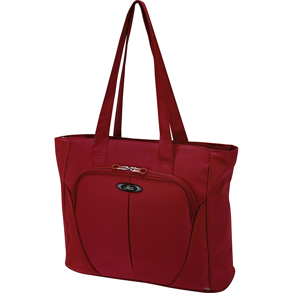 Skyway Mirage Superlight 18 Inch Shopper Tote Formula 1 Red Skyway Luggage Totes and Satchels