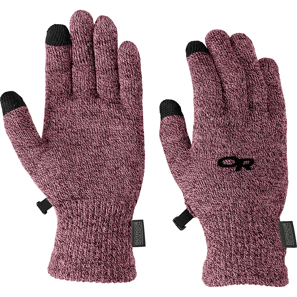 Outdoor Research Biosensor Liners Womens L - Mulberry - LG - Outdoor Research Hats/Gloves/Scarves - Fashion Accessories, Hats/Gloves/Scarves