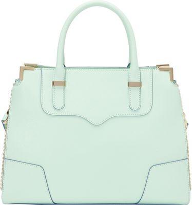 Rebecca Minkoff Amorous Convertible Satchel Wintermint - Rebecca Minkoff Designer Handbags