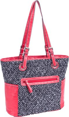 Parinda Melody Tweed Smoke - Parinda Manmade Handbags