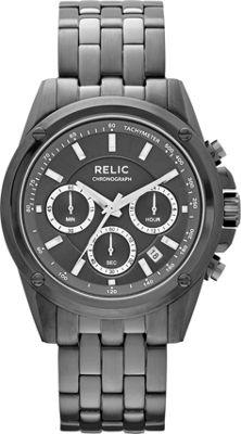 Relic Grant Black IP - Relic Watches