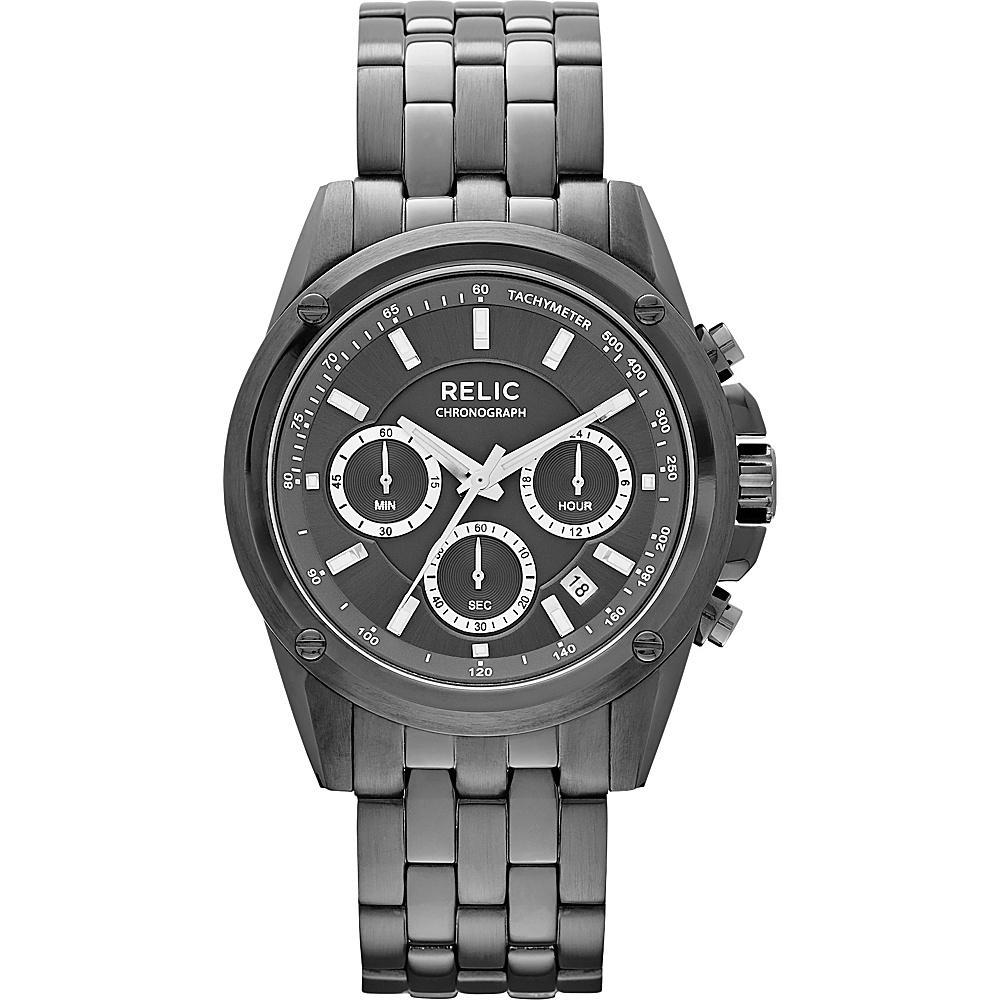 Relic Grant Black IP Relic Watches