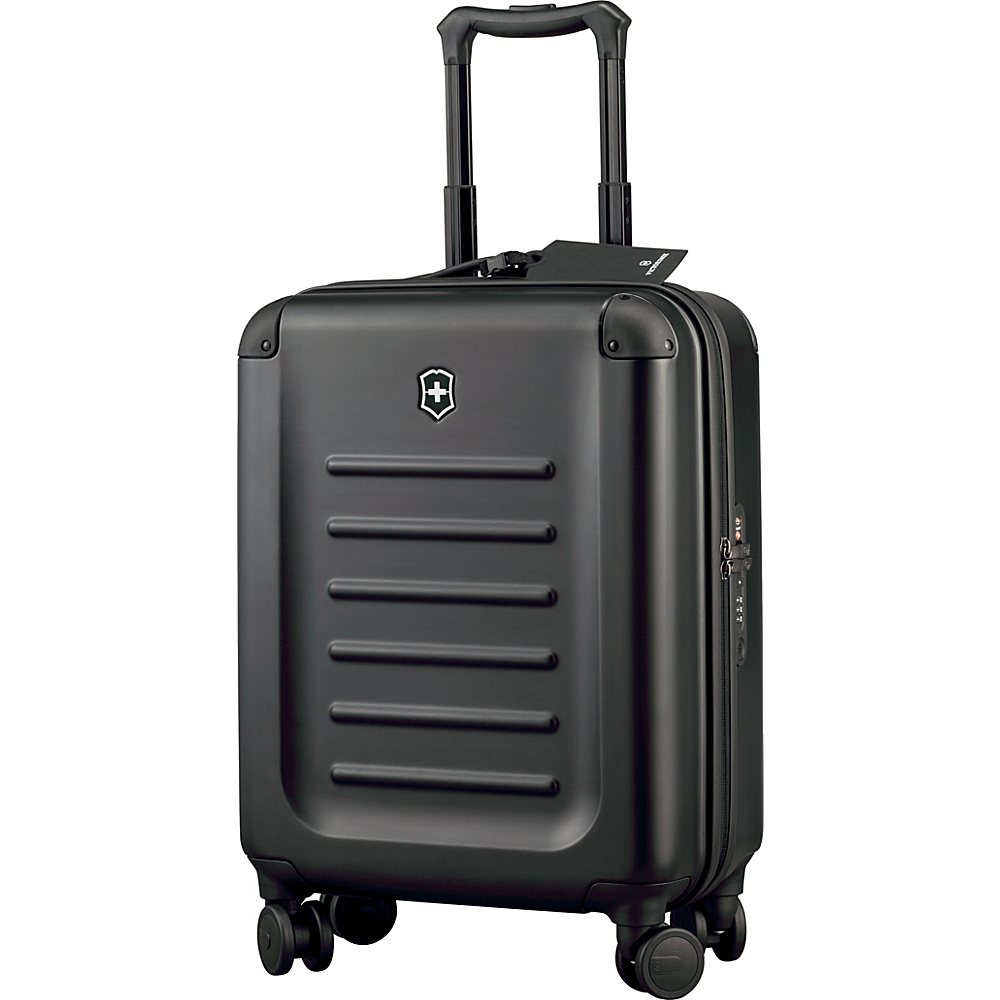 Victorinox Spectra 2.0 Global Carry On Black Victorinox Hardside Carry On