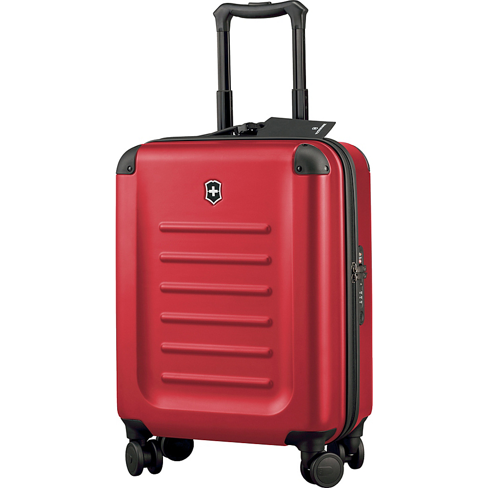 Victorinox Spectra 2.0 Global Carry On Red Victorinox Hardside Carry On