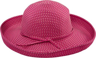 San Diego Hat Ribbon Kettle Brim Hat Hot Pink - San Diego Hat Hats/Gloves/Scarves