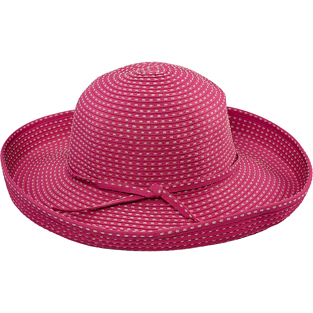 San Diego Hat Ribbon Kettle Brim Hat Hot Pink San Diego Hat Hats Gloves Scarves