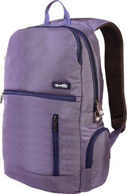 Genius Pack Intelligent Travel Backpack Plum - Genius Pack Business & Laptop Backpacks