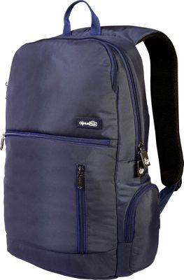 Genius Pack Intelligent Travel Backpack Navy - Genius Pack Business & Laptop Backpacks