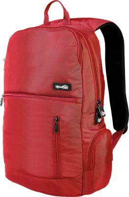 Genius Pack Intelligent Travel Backpack Red - Genius Pack Business & Laptop Backpacks