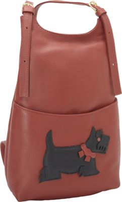 J. P. Ourse & Cie. Kangaroo Handbag Backpack Scottie - J. P. Ourse & Cie. Leather Handbags