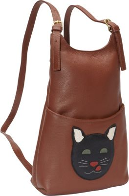 J. P. Ourse & Cie. Kangaroo Handbag Backpack Cat - J. P. Ourse & Cie. Leather Handbags