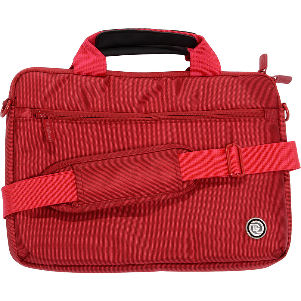 Digital Treasures SlipIt Select Case for 11.6 Chromebooks Red Digital Treasures Non Wheeled Business Cases