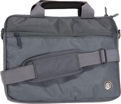 Digital Treasures SlipIt Select Case for 11.6 inch Chromebooks Grey - Digital Treasures Non-Wheeled Business Cases