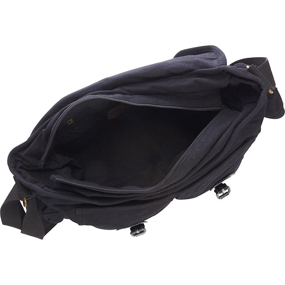 "Vagabond Traveler Large Casual 17"" Messenger Shoulder Bag Military Green - Vagabond Traveler Messenger Bags"