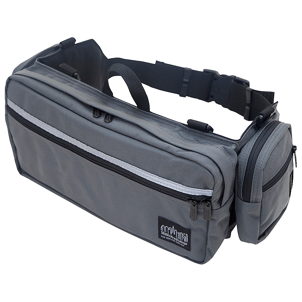 Manhattan Portage Urban Trek Gray - Manhattan Portage Waist Packs - Backpacks, Waist Packs