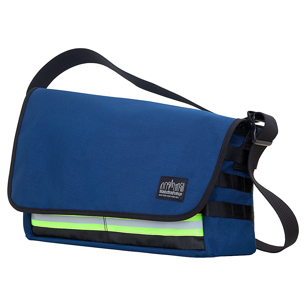Manhattan Portage Trinity Messenger Bag Navy - Manhattan Portage Messenger Bags - Work Bags & Briefcases, Messenger Bags