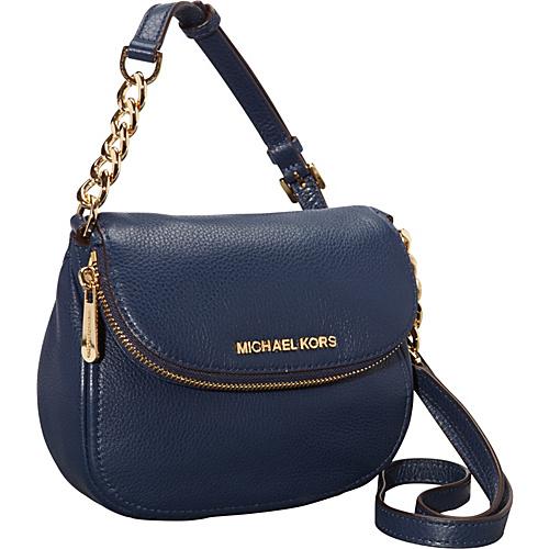 759143cf4ea4 UPC 888235211916 product image for MICHAEL Michael Kors Bedford Flap  Crossbody Bag Navy - MICHAEL Michael ...