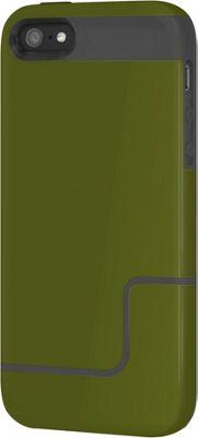 Incipio EDGE Pro for iPhone SE/5/5S Green/Charcoal - Incipio Electronic Cases