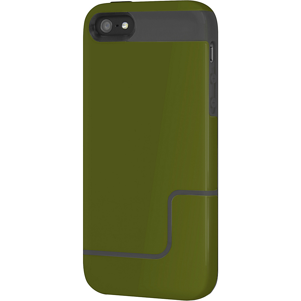 Incipio EDGE Pro for iPhone SE/5/5S Green/Charcoal - Incipio Electronic Cases - Technology, Electronic Cases
