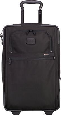 Tumi Alpha 2 International Expandable 2 Wheeled Carry-On Black - Tumi Softside Carry-On