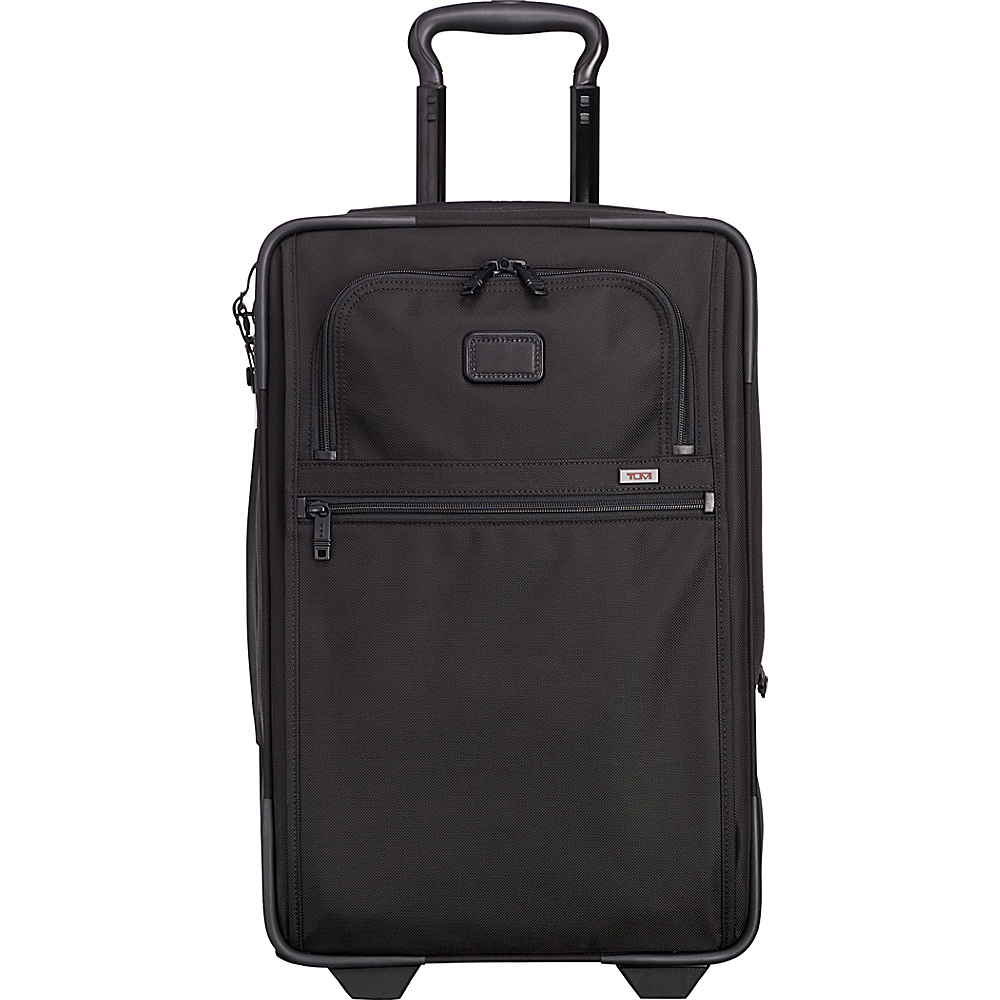 Tumi Alpha 2 International Expandable 2 Wheeled Carry-On Black - Tumi Softside Carry-On