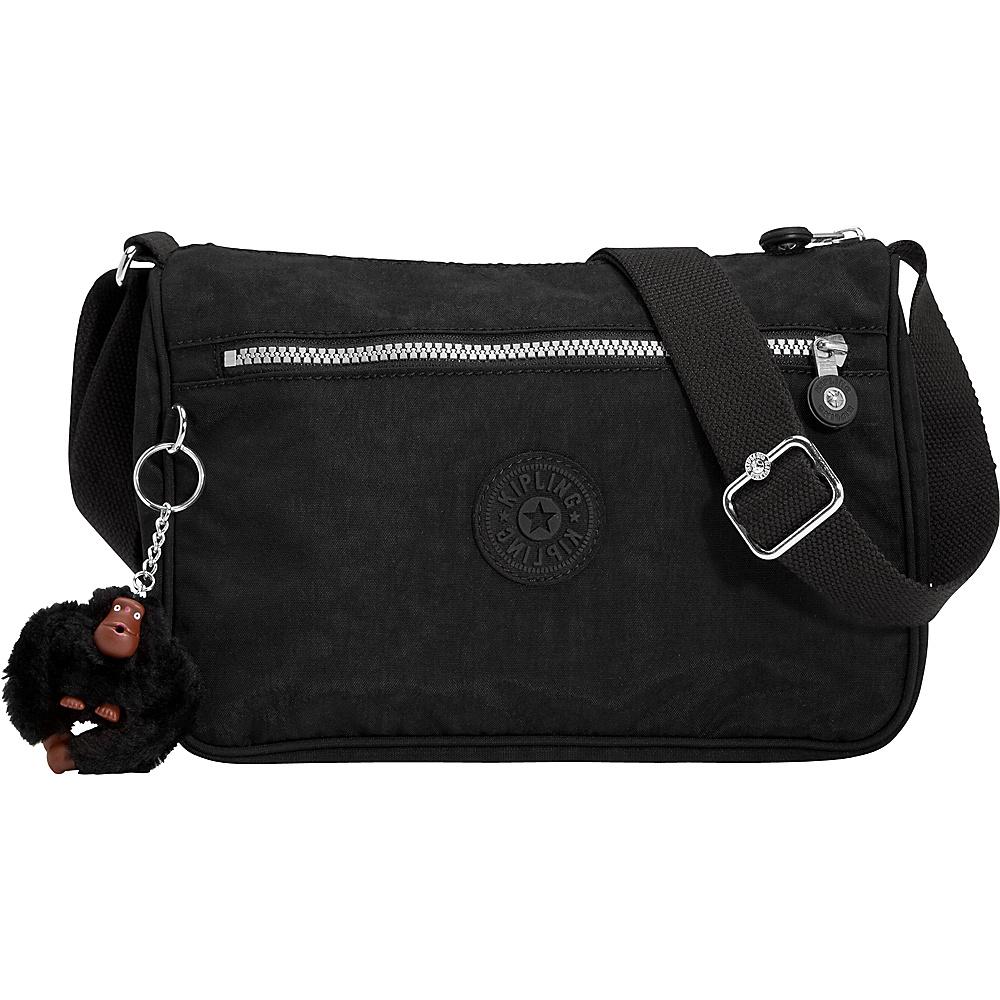 Kipling Callie Crossbody Bag Black Kipling Fabric Handbags
