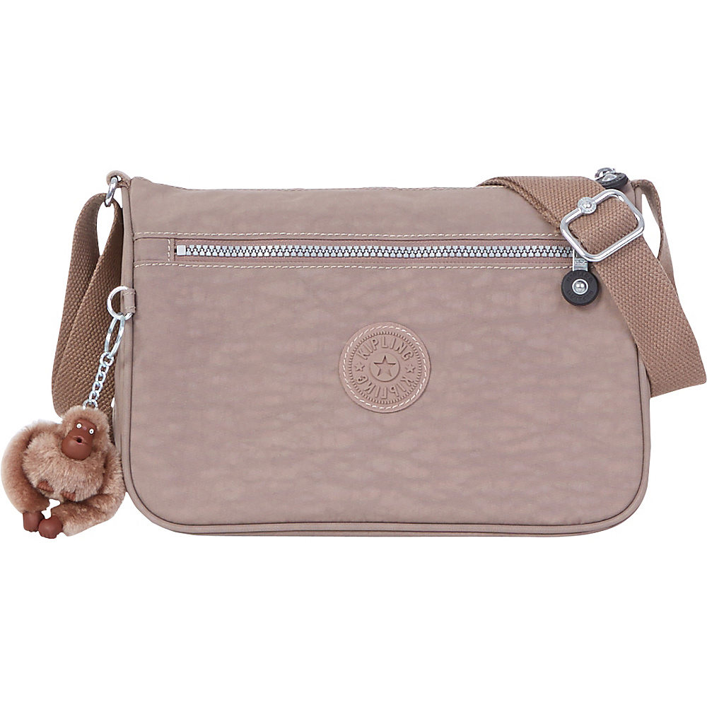 Kipling Callie Crossbody Bag Bran Kipling Fabric Handbags